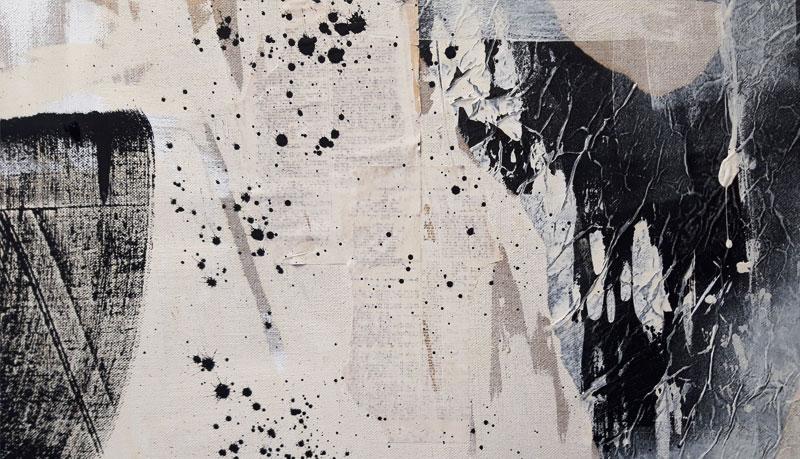 Abstrakte Kunst Struktur