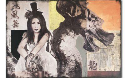 Asiatische Wandbilder