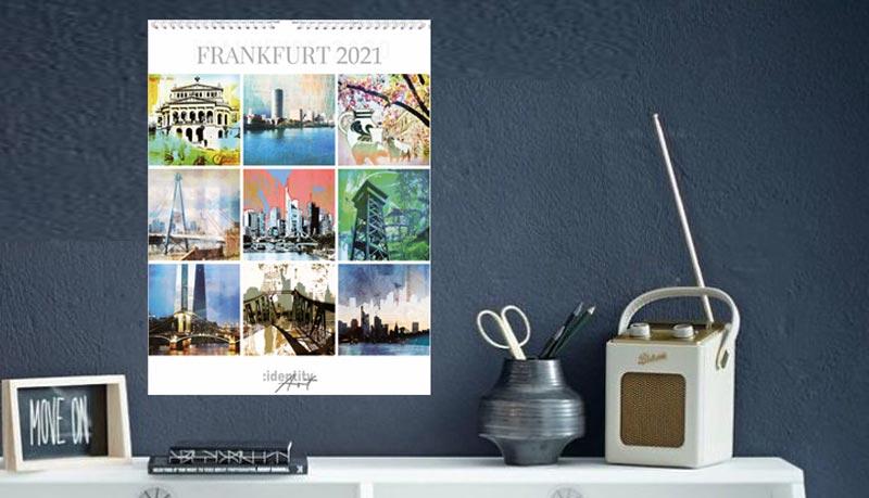 Wandkalender Frankfurt