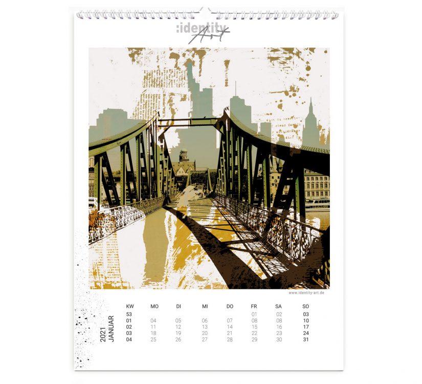 Frankfurt Kalender im Januar
