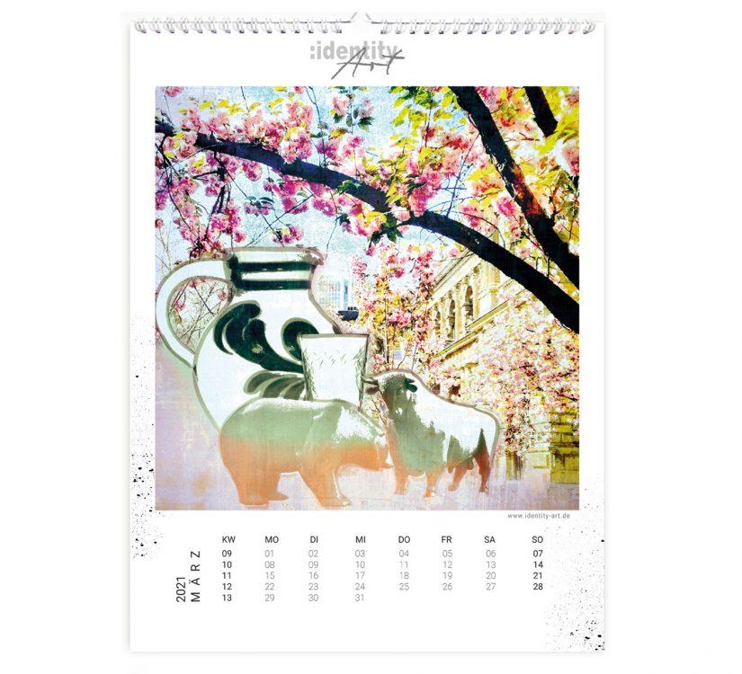 Frankfurt Kalender im März
