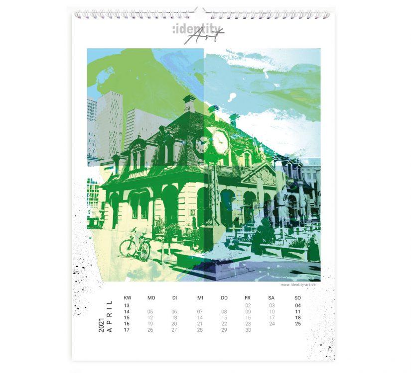 Frankfurt Kalender im April