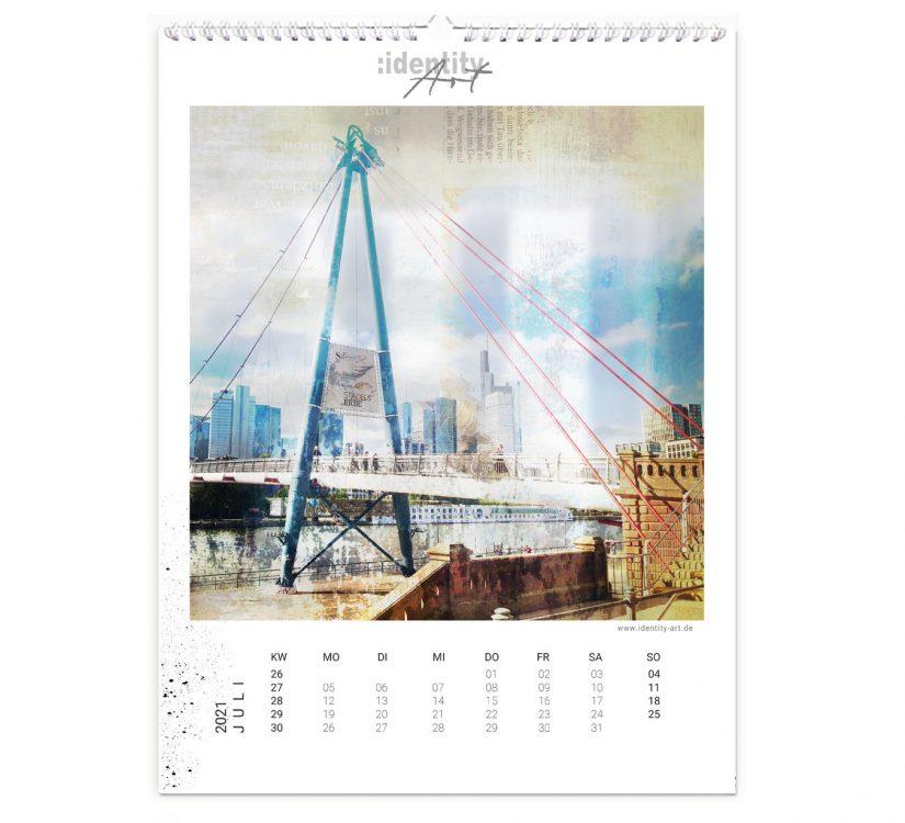 Frankfurt Kalender im Juli