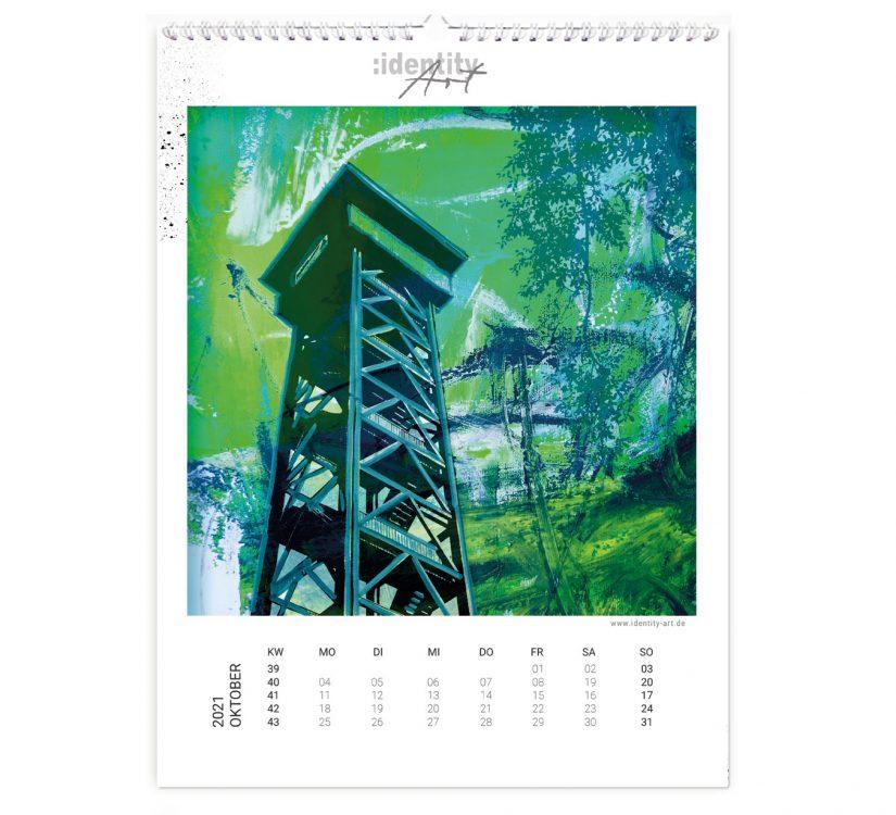 Frankfurt Kalender im Oktober