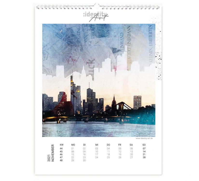 Frankfurt Kalender im November