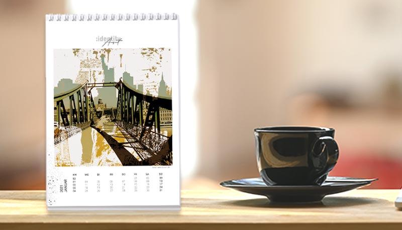 Tischkalender Frankfurt