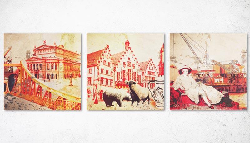 Leinwandkunst Frankfurt