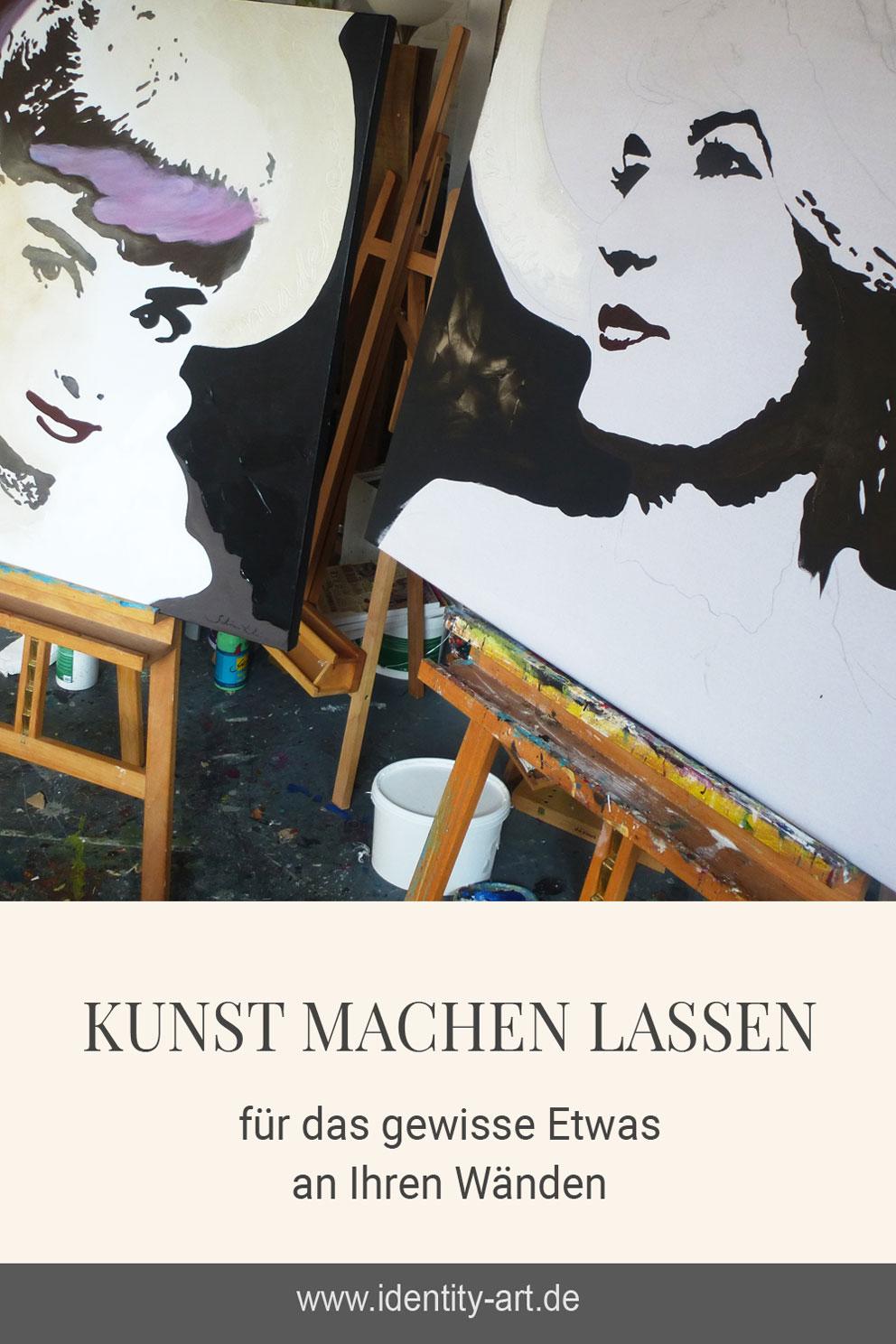 Frauenportrait malen lassen