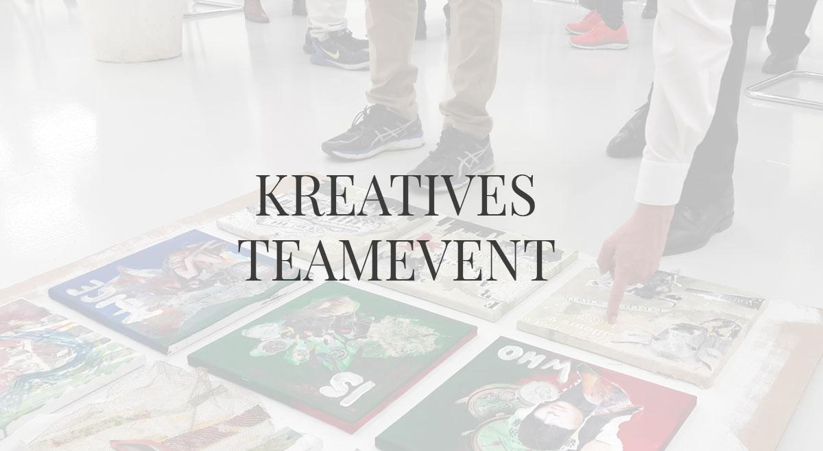 Kreatives Teamevent