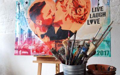 Kunst als Geschenk zur Hochzeit